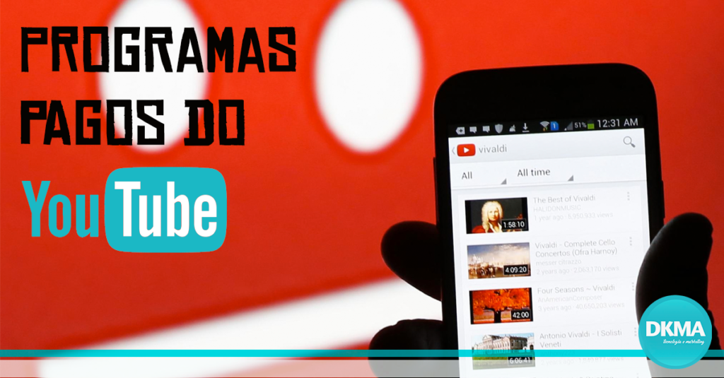programas pagos do youtube