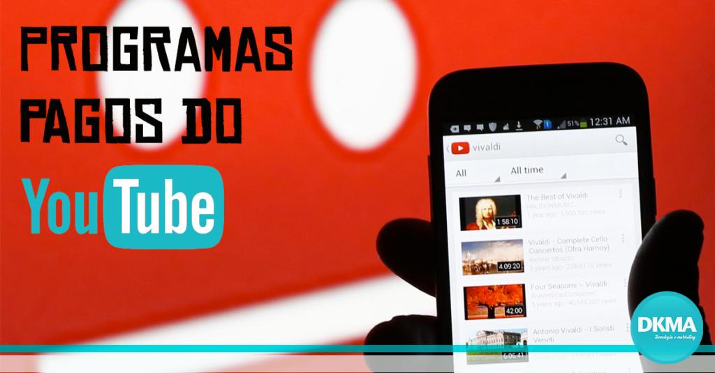 programas pagos do youtube