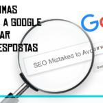 Para algumas procuras a Google vai mostrar apenas respostas diretas
