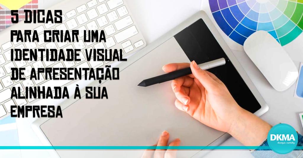 identidade visual de apresentação
