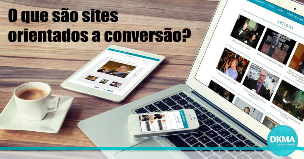 O que são sites orientados a conversão?